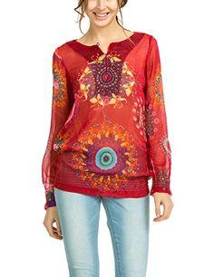 Desigual 50B23H3 - Pantalones para mujer, color rot - rot (rojo), talla 36 Desigual http://www.amazon.es/dp/B00OQ2UWHE/ref=cm_sw_r_pi_dp_6O2Wvb1DG1NE6
