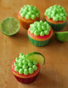 Margarita Cupcakes - A Duck's Oven