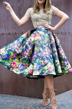 Women's Work Fashion Floral Fashion, Modest Fashion, Fashion Prints, Work Fashion, Fashion Looks, Fashion Outfits, Office Fashion, Fashion News, Women's Fashion