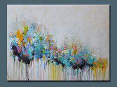 ORIGINAL abstract painting Abstract art blue abstract by artbyoak1