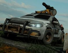 """Check out new work on my @Behance portfolio: """"Post Apocalypse Vehicle"""" http://on.be.net/1C99tvs"""