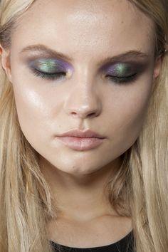 multi colored eye shadow