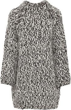 ShopStyle: Giambattista Valli Chunky-knit wool sweater dress