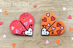 These Love Bugs are super quick and easy Valentines Bookmark Designs that the kids will love and can make themselves. They great gifts on Valentines Day.