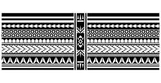 Polynesian tattoo sleeve pattern vector, samoan sketch forearm and foot design, maori stencil bracelet armband tattoo tribal, band. Fabric template seamless vector illustration Wrist Band Tattoo, Armband Tattoo, Tattoo Bracelet, Polynesian Tattoo Sleeve, Polynesian Tribal Tattoos, Sleeve Tattoos, Half Sleeve Tattoo Template, Border Tattoo, How To Make Stencils