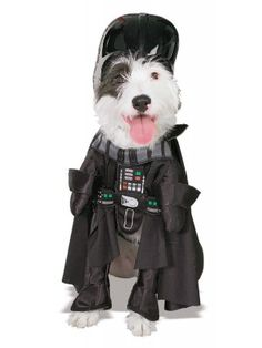 Disfraz de Darth Vader para Perro