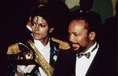 Michael Jackson & Quincy Jones