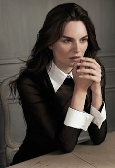 Anne Fontaine Spring 2012 - Anouck Lepere by Eric Guillemain