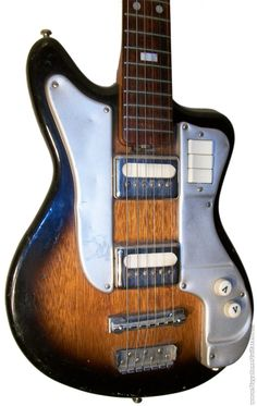 Guyatone Welson Guitar Model 1830. Continental Labeled. guyatoneguitars.com