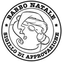 IMPRONTE D'AUTORE - STAMPING - PRODOTTI - TUTTO TIMBRI - 1598-Q Babbo Natale approva