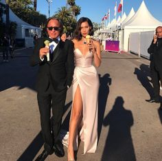 Cannes 2017 le Festival de Cannes de Bella Hadid et Mohamed Hadid