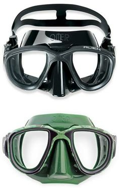 "Omer - Diving Mask ""Alien"""