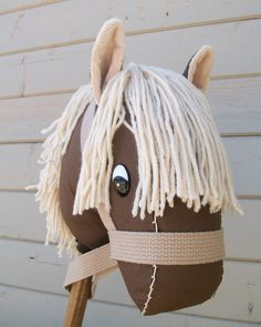 Hey all! My friend makes these awesome stick horses! They're great as gifts for little kids and not too shabby on the pricing either! She makes a lot of different types, too...horses, bulls, donkeys, unicorns, zebras and even a seahorse :) Check out her site to see all the types and to order from her!