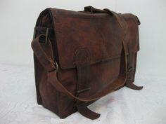 Men's Laptop Bag Macbook Leather Messenger Bags 17inches/inch Pure Genuine Handmade Soft Vintage Leather Briefcase Shoulder Bags Satchel