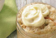 Gâteau aux #carottes dans une #tasse  #mugcake #gateau