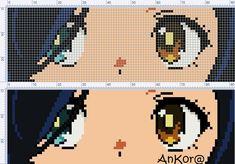 Bead Crafts, Diy Crafts, Pearl Beads Pattern, Pixel Art Grid, Anime Pixel Art, Pixel Design, Minecraft Art, Alpha Patterns, Beading Patterns
