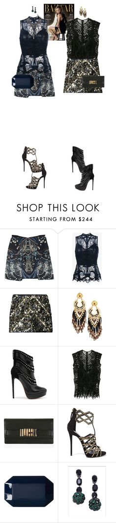 """Autumn Carey & Avery Paige #7370"" by canlui ❤ liked on Polyvore featuring Jonathan Simkhai, Catherine Malandrino, Gas Bijoux, Alaïa, Balmain, Giuseppe Zanotti, Alice + Olivia, Marni and Erickson Beamon"