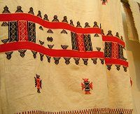 Indian Heritage - Embroidery - Toda embroidery from Nilgris, Tamilnadu