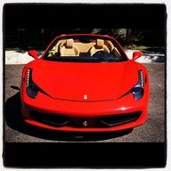 The Ferrari 458 is a supercar with a price tag of around quarter of a million dollars. Photos, specifications and videos of the Ferrari 458 Car In The World, Ferrari 458, Car Car, Hot Cars, Bugatti, Exotic Cars, Cars Motorcycles, Dream Cars, Super Cars