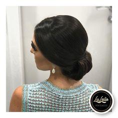 "43 curtidas, 2 comentários - Lu Leão Penteados (@luleaopenteados) no Instagram: ""#penteado #penteados #penteadosbh #penteadosmadrinhas #hairstyle #hair #hairstyling"""