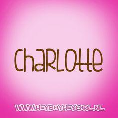 Charlotte (Voor meer inspiratie, en unieke geboortekaartjes kijk op www.heyboyheygirl.nl)