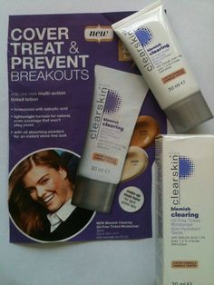Avon clearskin blemish clearing oilfree tinted moisturiser..30mls(usually £5.50)