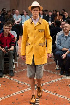 Junya Watanabe Spring 2016 Menswear Fashion Show: Complete Collection - Style.com