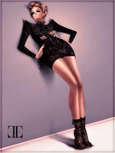 imvu virtual fashion style-card by eloque magazine