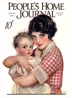 People's Home Journal 1926; cover artist,  F. Earl Christy