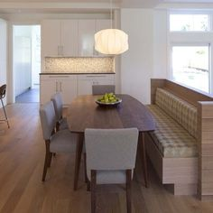 Dining Room Benches Design, Pictures, Remodel, Decor and Ideas - page 2