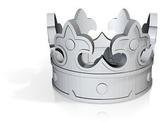 Crown Ring (various sizes) by MichaelMueller on Shapeways. Learn more before you buy, or discover other cool products in Rings. Chocolate Shapes, Making Out, Crown, Rings, Corona, Ring, Jewelry Rings, Crowns, Crown Royal Bags