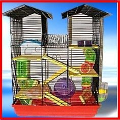 Beckingham Hamster Cage Palace Extra Large >>> Visit the image link more details. Note:It is affiliate link to Amazon.