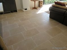 Dijon 600x400x15mm Limestone Tiles Limestone Flooring, Deco, Kitchen Remodel, Kitchen Dining, Floors, Tile Floor, Kitchen Ideas, Tiles, Living Room