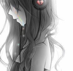 Ideas For Drawing Anime Crying Manga Girl Anime Girl Crying, Sad Anime Girl, Anime Art Girl, Anime Girls, Kawaii Anime, Anime Chibi, Manga Anime, Dark Anime, Sad Sketches