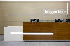 reception desk inspiration #bafco #bafcointeriors Visit www.bafco.com for more interior inspirations.