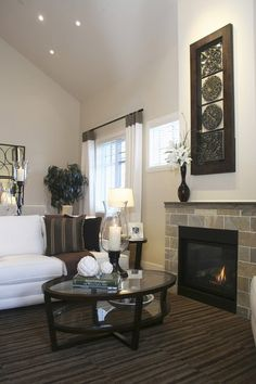Tall narrow fireplace | Mantel Mania: Sprucing The Space Above Your Fireplace