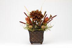 Autumn Star Floral Arrangement by LetesUniques on Etsy