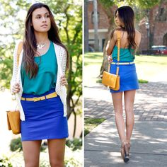 Check out Vividly Electric Look by Zinga and Ellison  at DailyLook