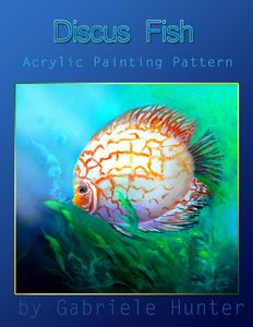 Create a Beautiful Discus DIY Fish Painting in acrylic using this DIY painting tutorial painting pattern. Acrylic Painting Techniques, Painting Lessons, Diy Painting, Art Lessons, Learn Painting, Painting Tutorials, Acrylic Paintings, Online Painting Classes, Acrylic Painting Inspiration