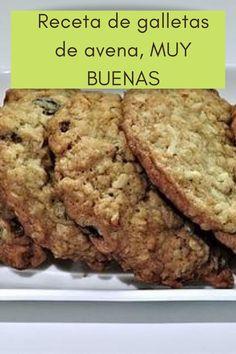 Receta definitiva para las mejores galletas de avena, ricas y faciles de hacer. Receta definitiva y efectiva.   #galletasdeavena#galletas #de #avena #cookies #la #desayuno #chocolate #spain #breakfast #bakery #españa #healthyfood #sweet #salud #food #healthy #instafood #el #saludable #reposteria #madrid #comidasana #love #realfood #comidasaludable #pasteleria #desayunosaludable #handmade Banana Bread, Madrid, Chocolate, Love, Desserts, Waffle Maker Recipes, Easy Desserts, Healthy Breakfasts, Healthy Food