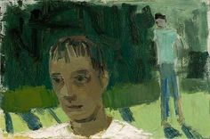 David Park, 1954, Two Boys Walking
