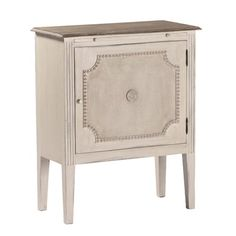 Gabby Furniture Landry Side Table  Gabby Furniture Landry Side Table SKU: 38374 $647.50  Qty:      Shipping Options Free Standard  ($0.00) Description  Gabby Home furniture Decor with a story, Gabby's line of antique reproduction furniture retains the spirit of the European pieces that inspired it. A mix of white burlap, handcarved molding and a single metal rosette completes the elegant and timeless aesthetic of the mahogany Landry side table. In addition to shelving storage behind a…