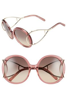 744d142c39 Chloe  Jackson  Round Sunglasses which is available in 3 colors  398