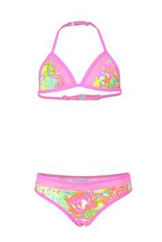 Vingino bikini voor meisje Yasmijn Pink | #Vingino #bikini for gilrs Yasmin pink #zwemkleding #meisje #kind #swimwear #kids #girl