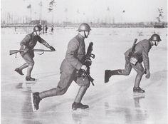 Holland Fielded Ice-Skate Infantry.