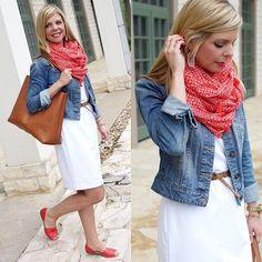 Outfit idea for a little white dress. www.liketk.it/1a4SE #liketkit