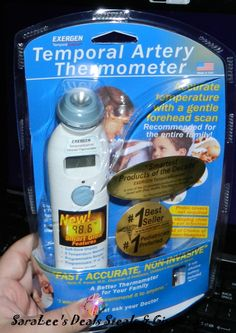 Exergen TemporalScanner #Giveaway 1/31 Daily #US Come enter 2 win! http://wp.me/p2Zbi5-36P @s8r8l33 @Exergen