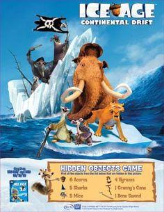 Hidden Objects game ~ Twentieth Century Fox Home Entertainment