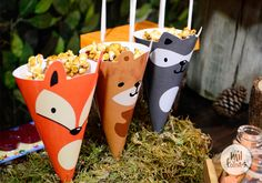 first birthday pictures Fox Party, Baby Party, Baby Shower Parties, Baby Birthday, First Birthday Parties, First Birthdays, Forest Party, Woodland Party, Party Decoration
