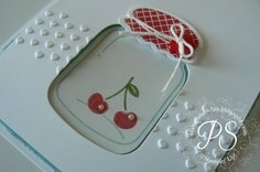 ball jar using negative space. She has such cute cards on this blog